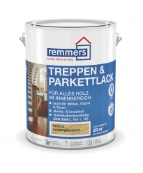 Lakier do Schodów i parkietu Remmers Treppen- & Parkettlack 2,5l