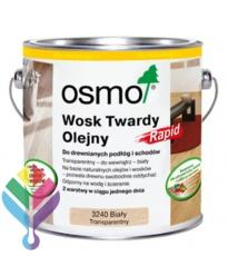 Osmo Wosk Twardy Olejny Rapid 3240 Biały Transparentny 25l