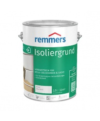 Farba kryjąca do drewna  Premium Remmers Isoliergrund Biała 5l
