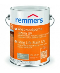 Lakierobejca dekoracyjna z filtrem UV Remmers 0,75l (Lanzgeit Lasur)