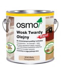 Osmo Wosk Twardy Olejny Rapid 3240 Biały Transparentny 10l
